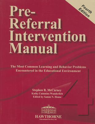 Pre-Referral Intervention Manual [With CD (Audio)] Cover Image