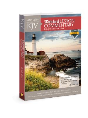 KJV Standard Lesson Commentary® Large Print Edition 2018-2019 Cover Image