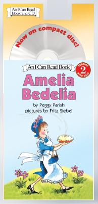 Amelia Bedelia Book and CD (I Can Read Level 2) Cover Image