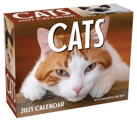 Cats 2021 Mini Day-to-Day Calendar Cover Image