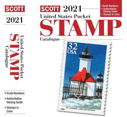 2021 Scott U S Stamp Pocket Catalogue: Scott Us Stamp Pocket Catalogue (Scott Catalogues) Cover Image