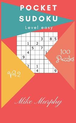 Pocket Sudoku: Level Easy 100 Puzzles Cover Image