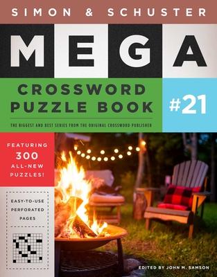 Simon & Schuster Mega Crossword Puzzle Book #21 (S&S Mega Crossword Puzzles #21) Cover Image