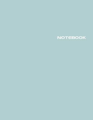 Notebook: Lined Notebook Journal - Stylish Dayflower - 120 Pages - Large 8.5 x 11 inches - Composition Book Paper - Minimalist D Cover Image