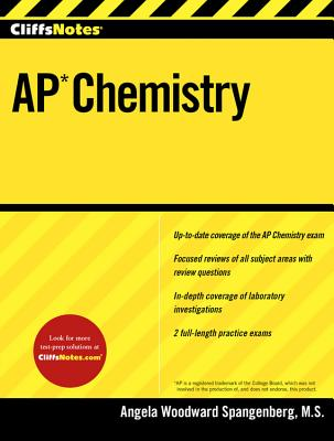 CliffsNotes AP Chemistry Cover Image