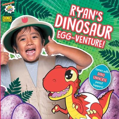 Ryan's Dinosaur Egg-venture! (Ryan's World) Cover Image