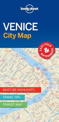 Lonely Planet Venice City Map Cover Image