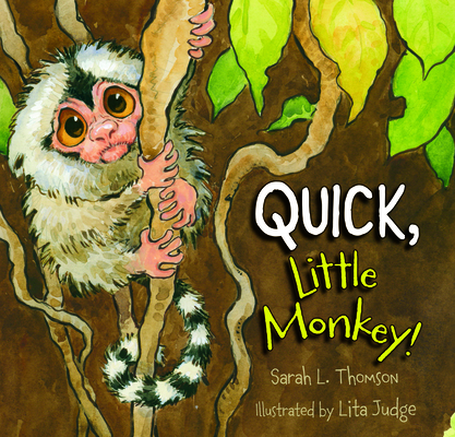 Quick, Little Monkey! Cover