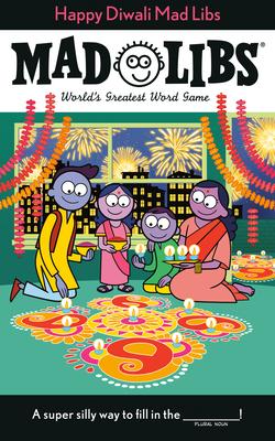 Happy Diwali Mad Libs Cover Image