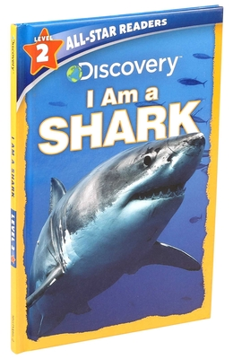 Discovery All Star Readers I Am a Shark Level 2 (Library Binding) Cover Image