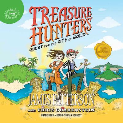 Treasure Hunters: Quest for the City of Gold Lib/E Cover Image
