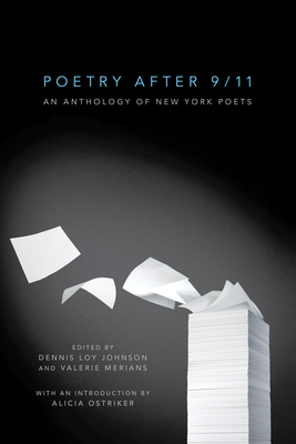 Poetry After 9/11: An Anthology of New York Poets Cover Image