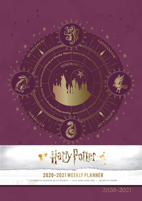 Harry Potter 2020-2021 Weekly Planner Cover Image