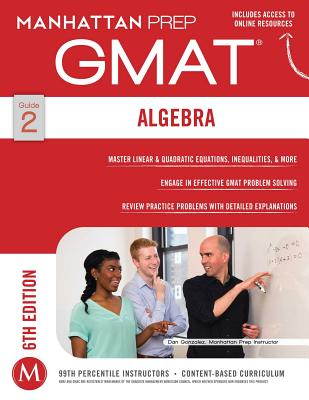 GMAT Algebra Strategy Guide (Manhattan Prep GMAT Strategy Guides) Cover Image