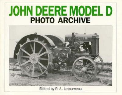 Cover for John Deere Model D Photo Archive