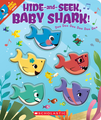 Hide-and-Seek, Baby Shark! Cover Image