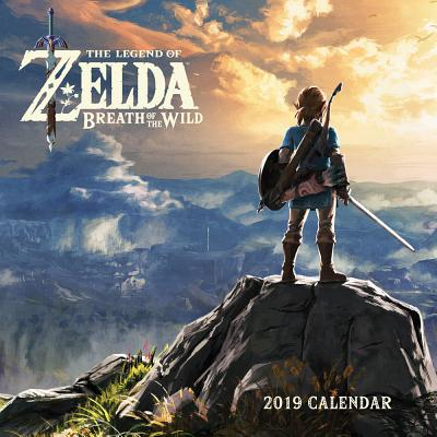 Legend of Zelda: Breadth of the Wild 2019 Wall Calendar Cover Image