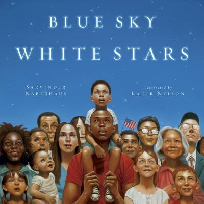 Blue Sky White Stars Cover Image