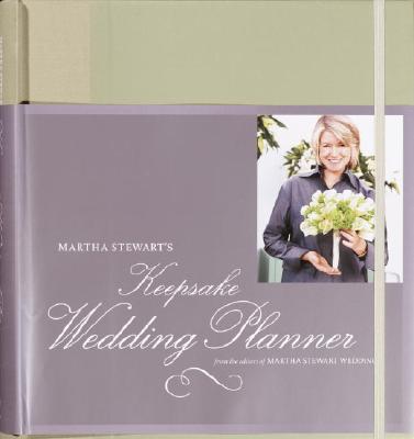 Martha Stewart's Keepsake Wedding Planner Cover Image