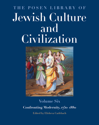 Cover for The Posen Library of Jewish Culture and Civilization, Volume 6