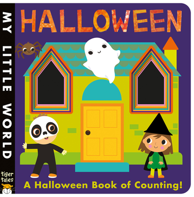 Halloween: A Peek-Through Halloween Book of Counting (My Little World) Cover Image