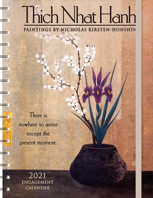 Thich Nhat Hanh 2021 Engagement Calendar: Paintings by Nicholas Kirsten-Honshin Cover Image