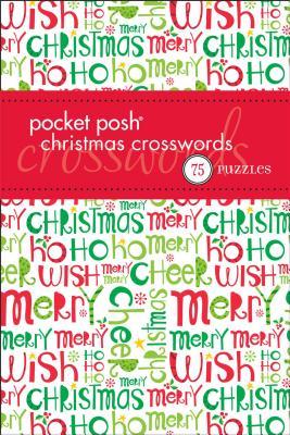 Pocket Posh Christmas Crosswords 4: 75 Puzzles Cover Image