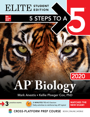 5 Steps to a 5: AP Biology 2020 Elite Student Edition Cover Image