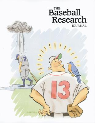 The Baseball Research Journal (BRJ), Volume 34 Cover Image