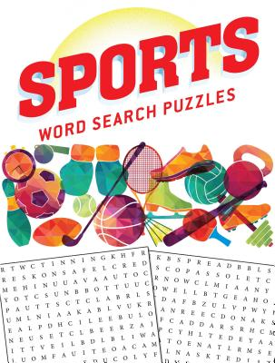 Sports Word Search Puzzles Cover Image