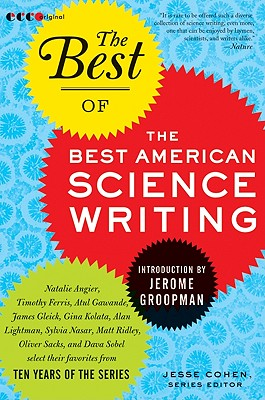 The Best of the Best American Science Writing Cover