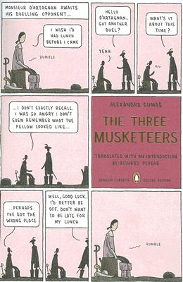 The Three Musketeers: (Penguin Classics Deluxe Edition) Cover Image