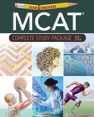 Examkrackers MCAT 11th Edition Study Packages Cover Image