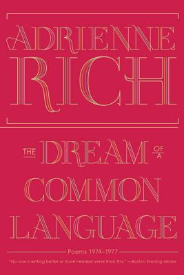 The Dream of a Common Language: Poems 1974-1977 Cover Image