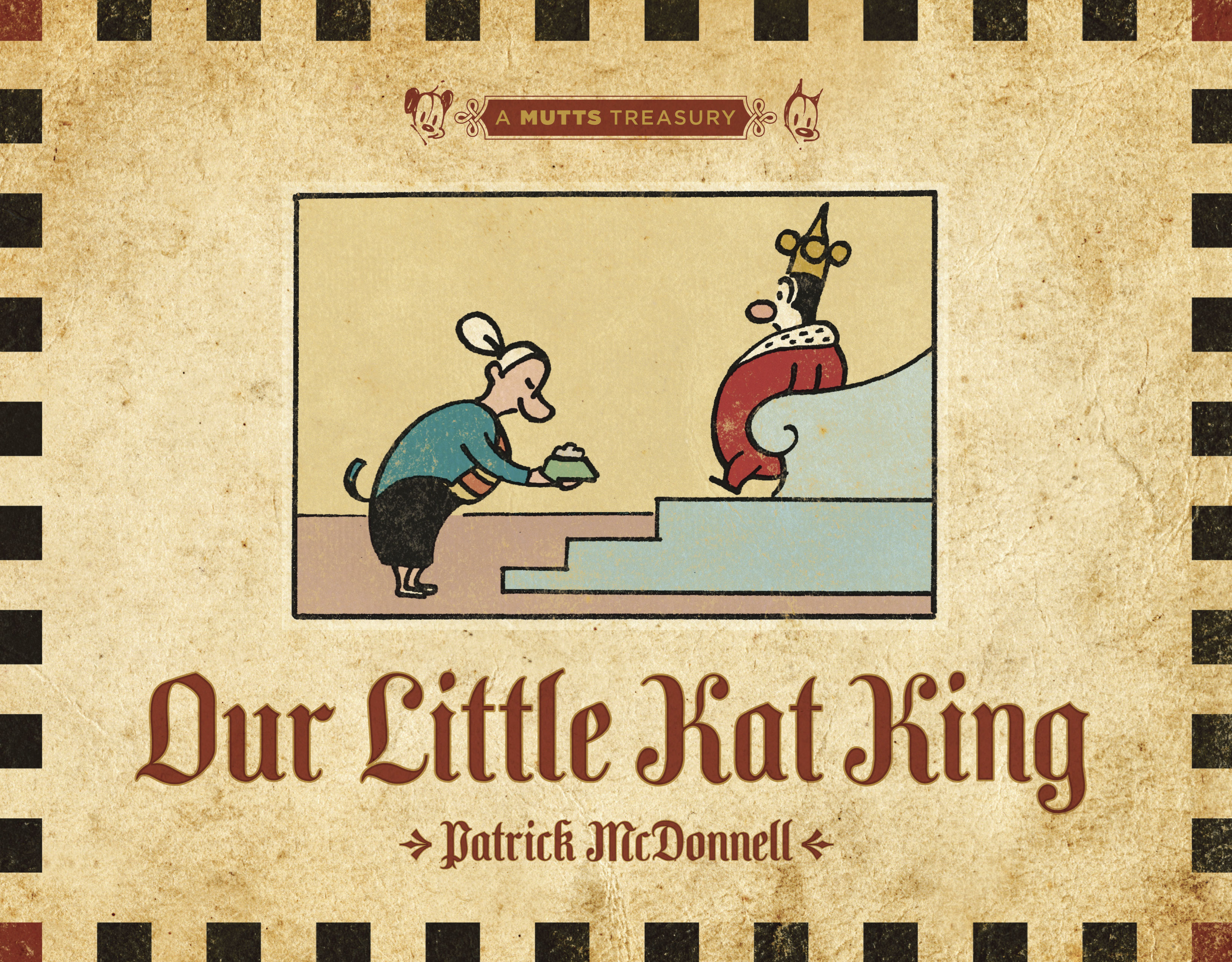 Our Little Kat King: A Mutts Treasury Cover Image