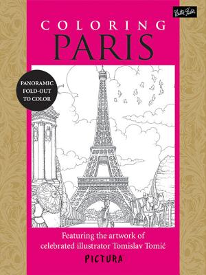 Coloring Paris Cover