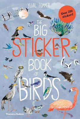 The Big Sticker Book of Birds (The Big Book Series) Cover Image