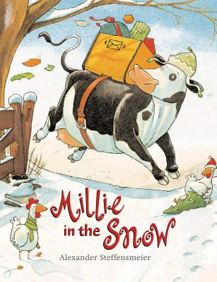 Millie in the Snow Cover