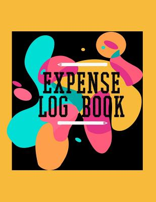 Expense Log Book: Personal Expense Tracker Cover Image