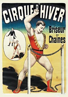 Carnet Ligné Affiche Cirque d'Hiver (Bnf Affiches) Cover Image