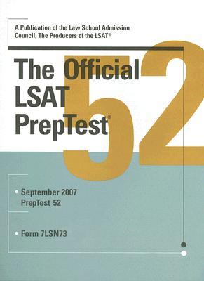 The Official LSAT PrepTest Cover Image