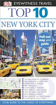 Top 10 New York City [With Map] Cover Image
