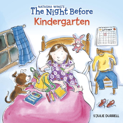 The Night Before Kindergarten (Reading Railroad Books) Cover Image