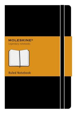 Moleskine Classic Notebook, Pocket, Ruled, Black, Hard Cover (3.5 x 5.5) (Classic Notebooks) Cover Image