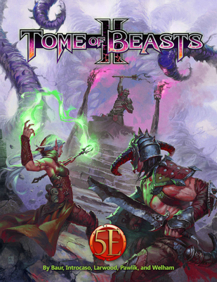 Tome of Beasts 2 Cover Image