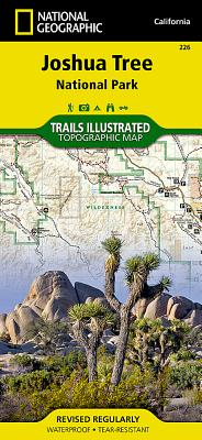 Joshua Tree National Park (National Geographic Trails Illustrated Map #226) Cover Image