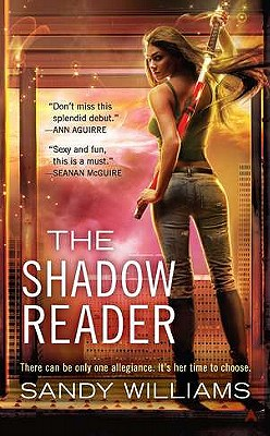 The Shadow Reader Cover