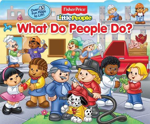 Cover for What Do People Do?