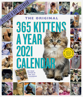 365 Kittens-A-Year Picture-A-Day Wall Calendar 2021 Cover Image