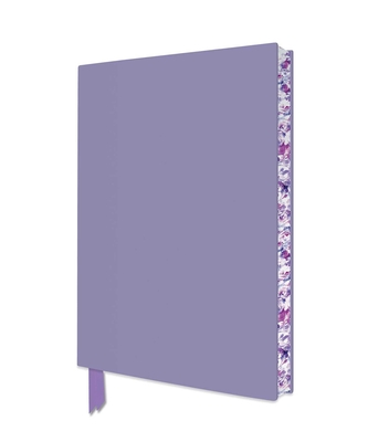 Lilac Artisan Notebook (Flame Tree Journals) (Artisan Notebooks) Cover Image